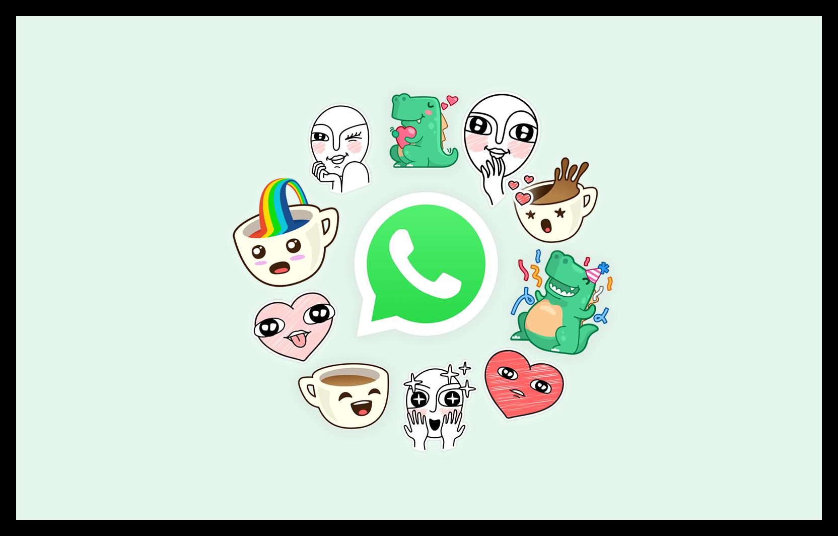 Картинка Стикеры в WhatsApp
