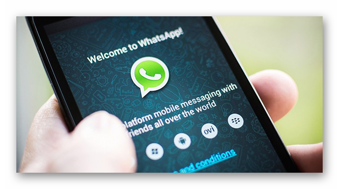Картинка WhatsApp для телефона