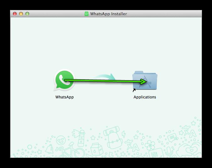 Установка WhatsApp на Mac OS