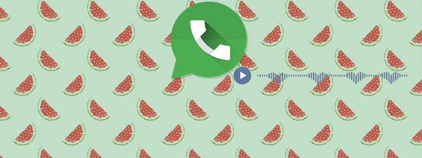 Как отправить голосовое сообщение в WhatsApp