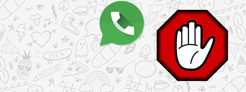 Как заблокировать человека в WhatsApp
