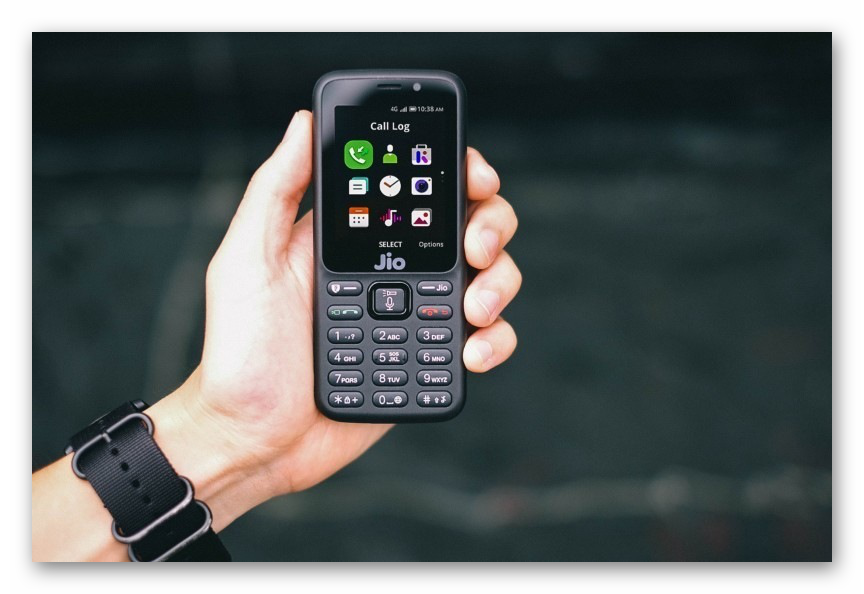 Картинка WhatsApp для телефонов JioPhone на платформе KaiOS