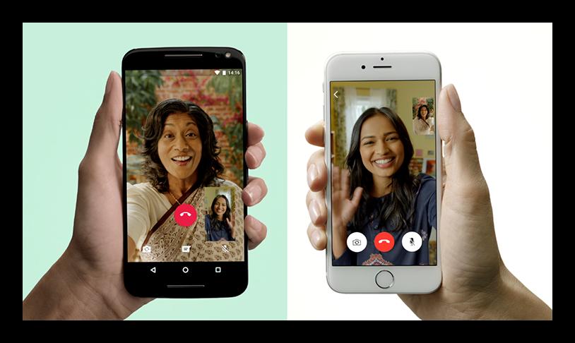 Картинка Видеовызовы в WhatsApp для iOS и Android